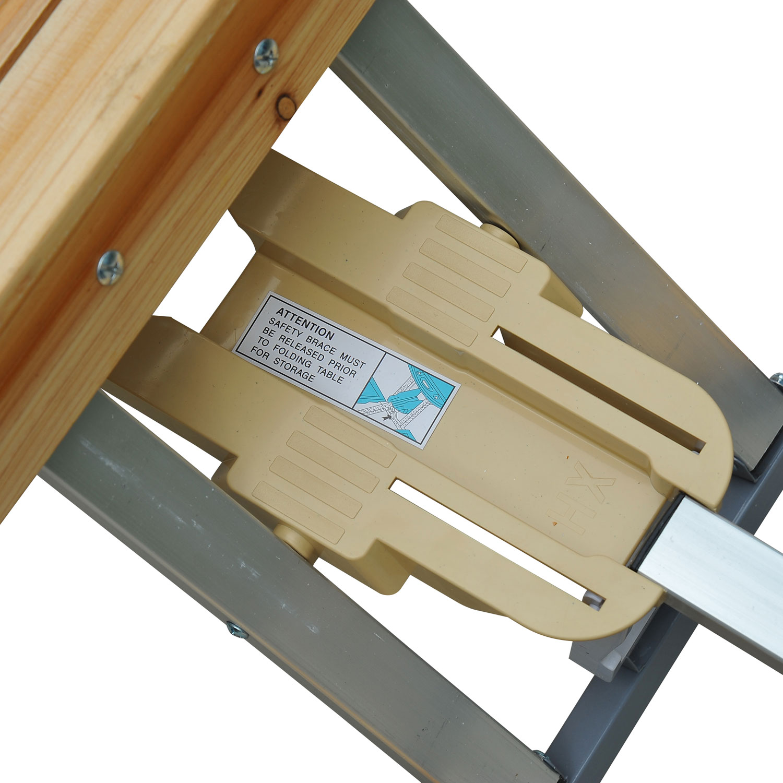 thumbnail 58 - Portable Folding Camping Picnic Table Party Outdoor Garden Chair Stools Set