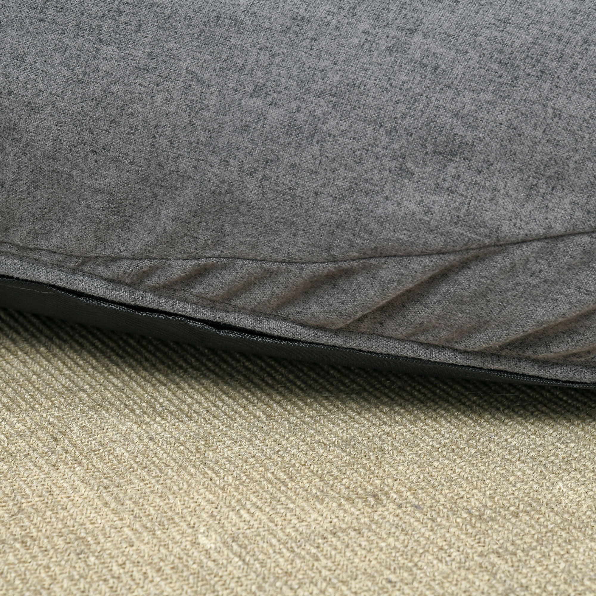 Indexbild 11 - Sitzsack Sitzkissen gepolstert Polyester Schaumstoff 3 Farben