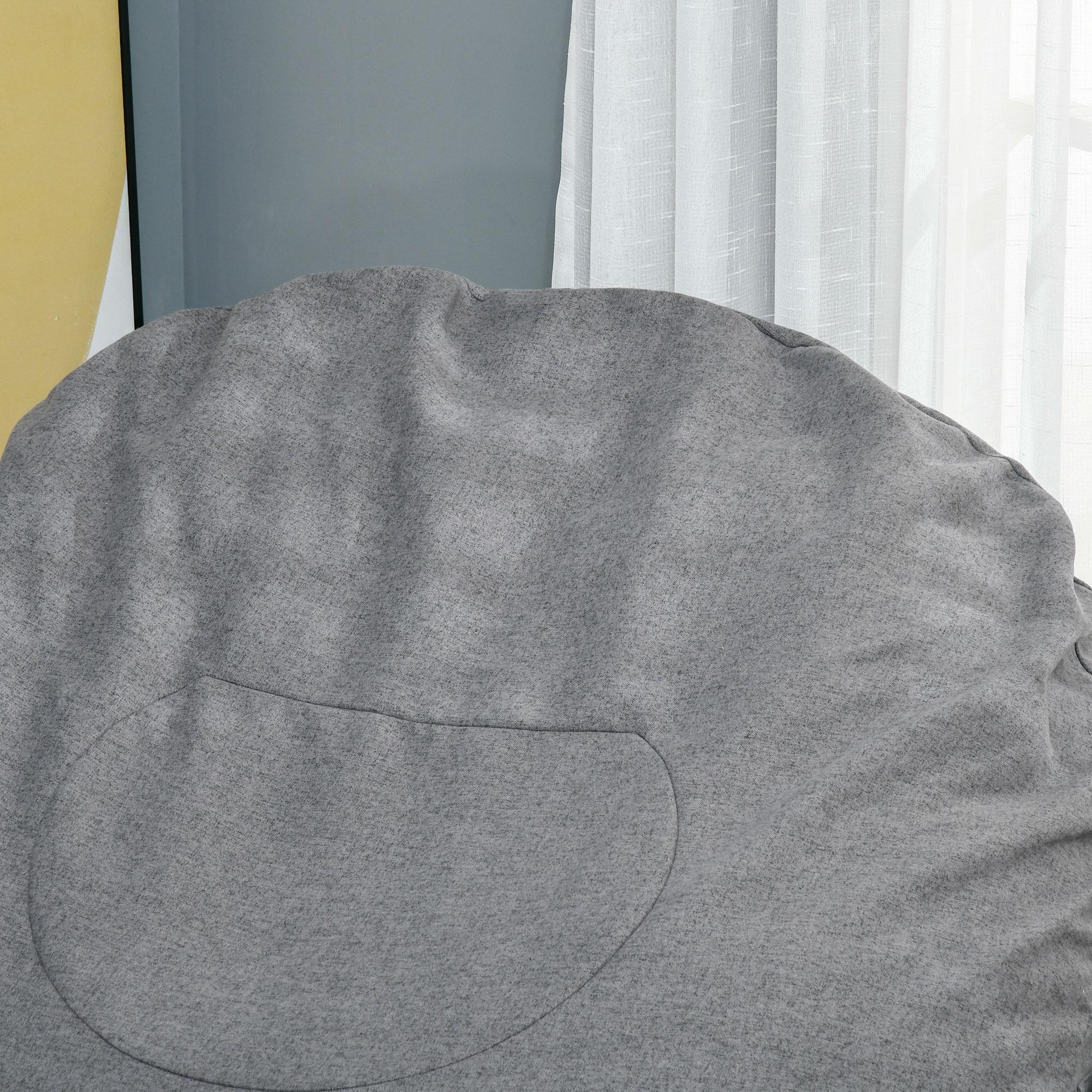 Indexbild 13 - Sitzsack Sitzkissen gepolstert Polyester Schaumstoff 3 Farben