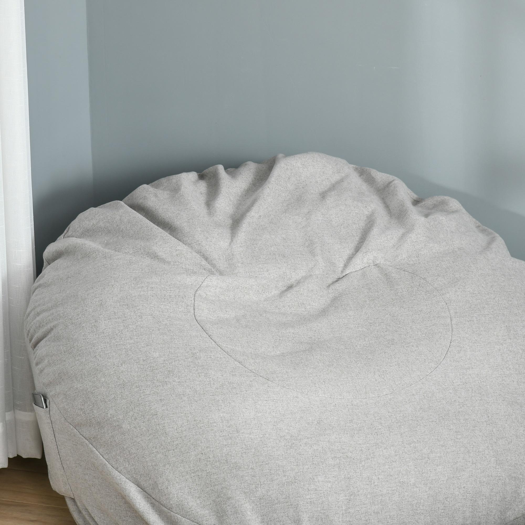 Indexbild 18 - Sitzsack Sitzkissen gepolstert Polyester Schaumstoff 3 Farben