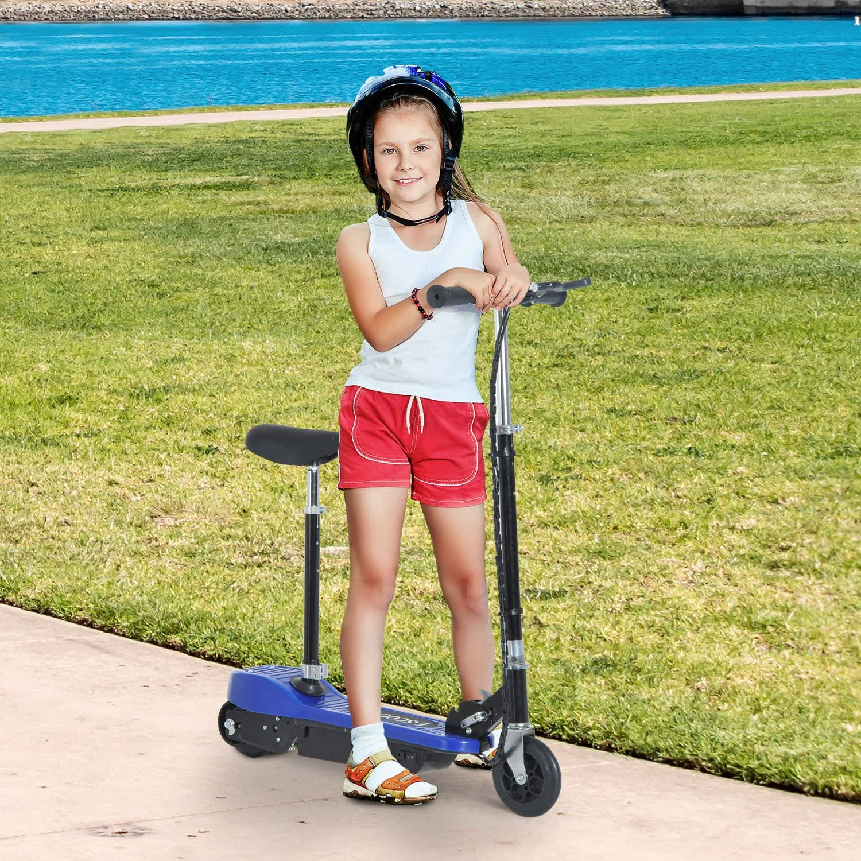 miniatura 3 - HOMCOM Monopattino Elettrico Pieghevole per Bambini Seggiolino Regolabile